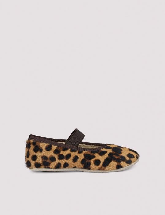 Ballerina Shoe w Elastic Blur Leo