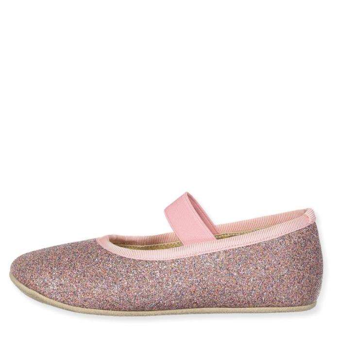 Ballerina Shoe w Elastic Disco 1
