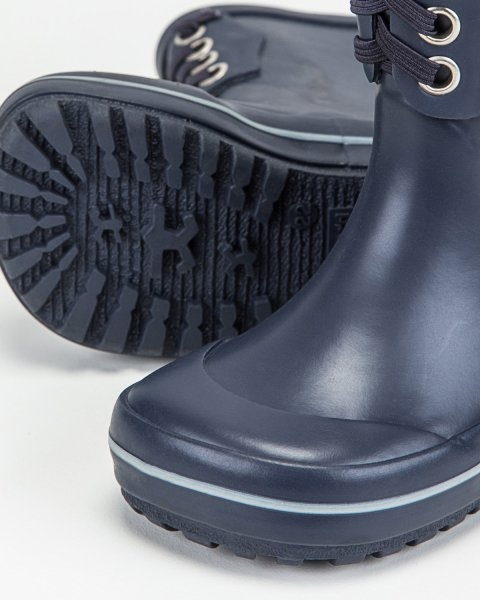 Classic Rubber Boots Warm Navy 1