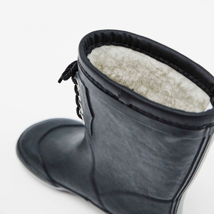 Classic Rubber Boots Warm Navy 2