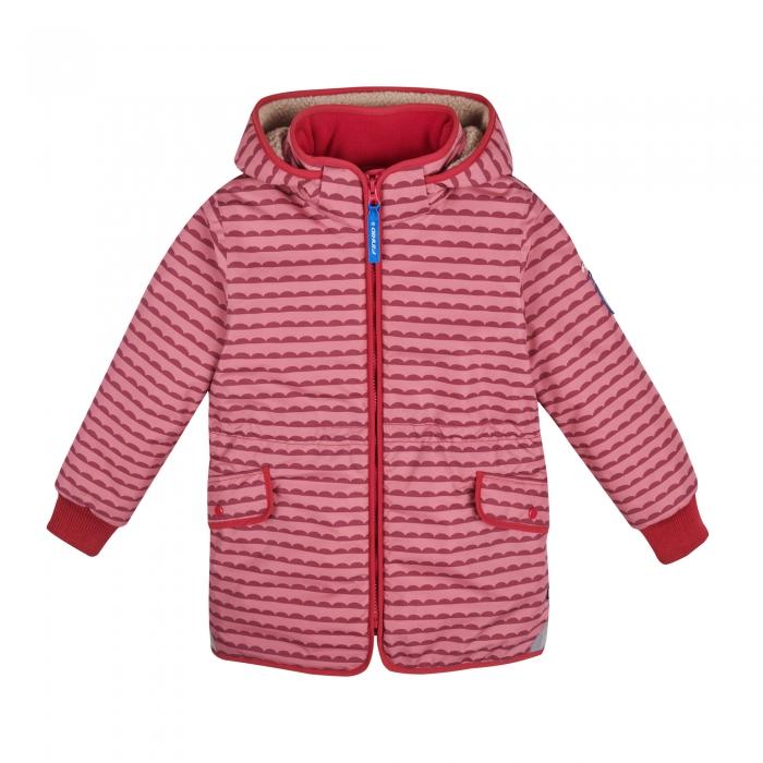 Ella soft winter jacket pebbles rose 0