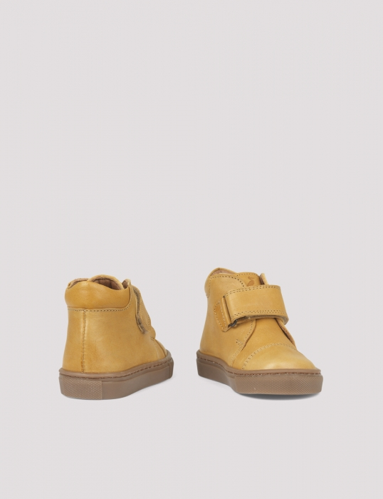 Kicks velcro Mustard 2