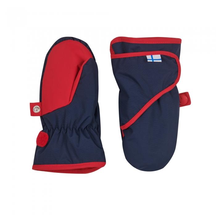 Lapanen mittens navy/red 0