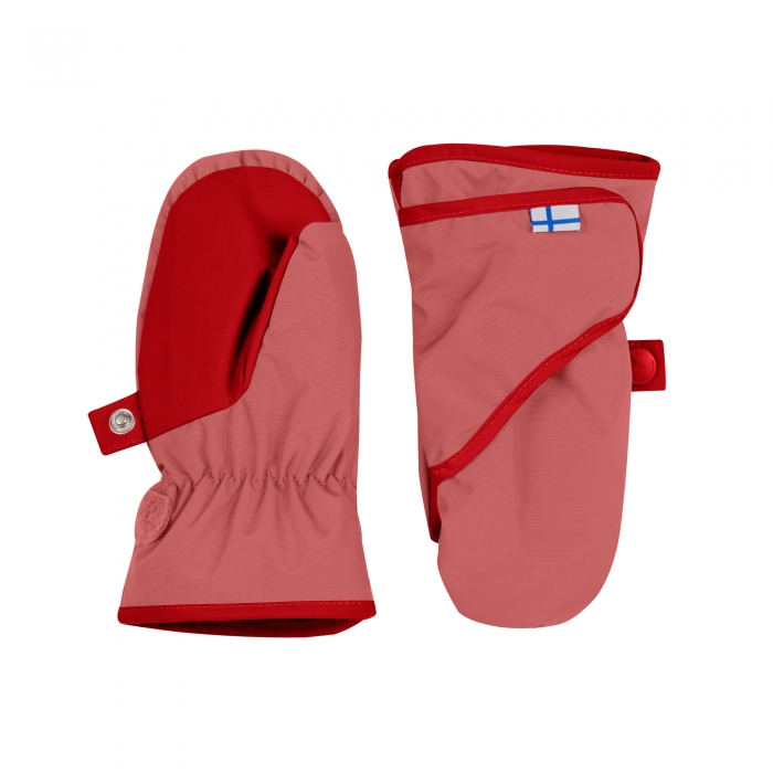 Lapanen mittens rose/red 0