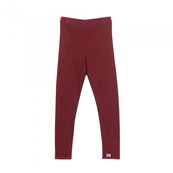 Leikki wool pants cabernet 0