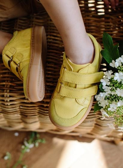 Low sneaker limone 4