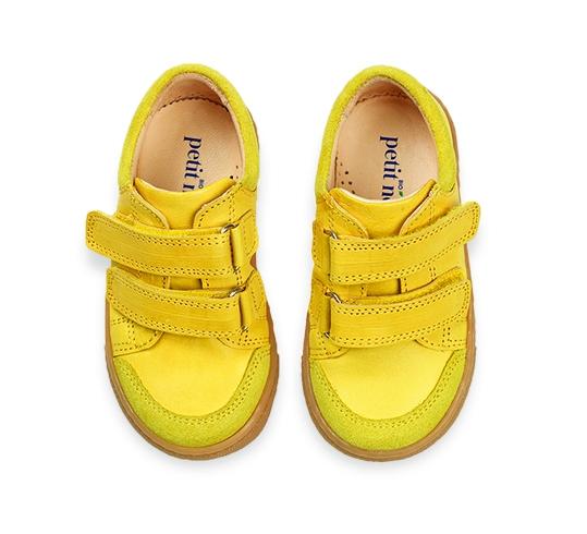 Low sneaker limone 3