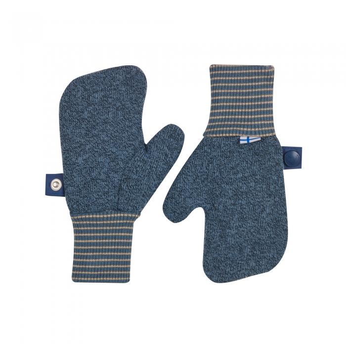 Nupujussi Knit Mittens blue mirage 0