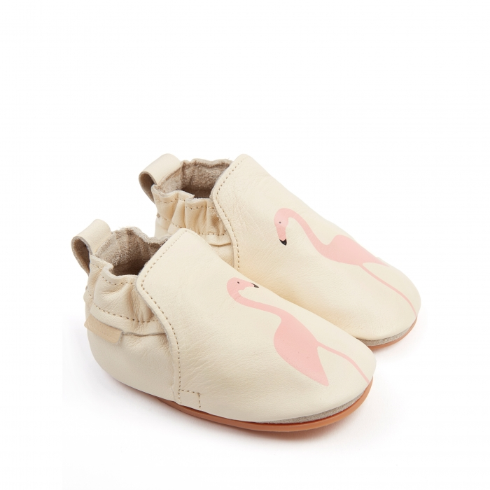 Rio Flamingo Cream Leather 1