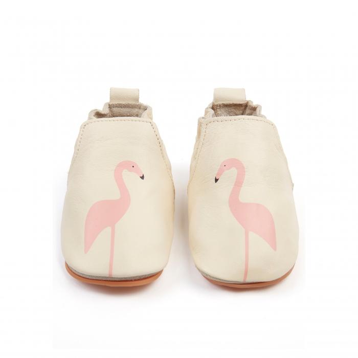 Rio Flamingo Cream Leather 0