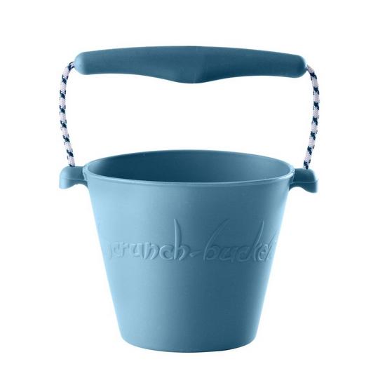 Scrunch bucket Duck Egg Blue