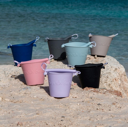 Scrunch bucket Dusty Rose 5