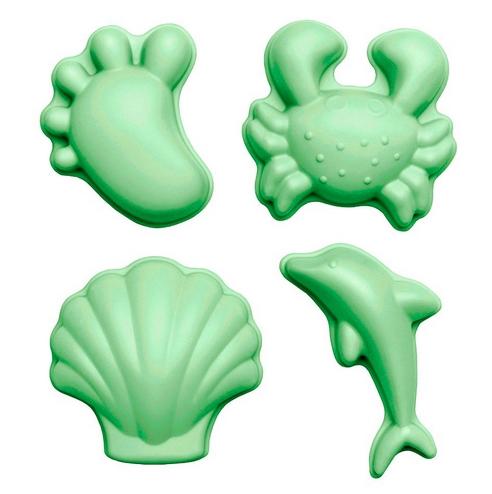Scrunch moulds set 4 Pastel Green 0