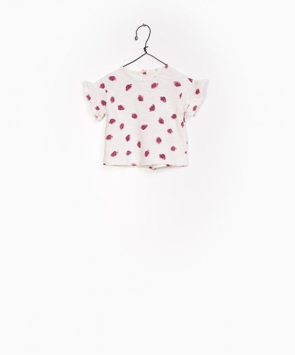 Tricou print capsuni